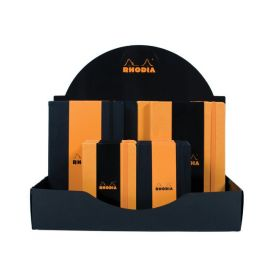 #118000 Rhodia Boutique Webnotebook Cardboard Countertop Display Bound 14 x 5 x 12 Assorted