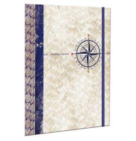 #99767 Clairefontaine Maritime Collection Portfolio 9 ½ x 12 ½
