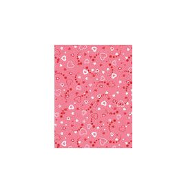 #C/437 Decopatch Pink and Red Hearts 3 sheets of 1 design Decoupage paper 11 3/4 x 15 3/4 3