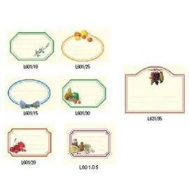 #601/10L Labels - Olive