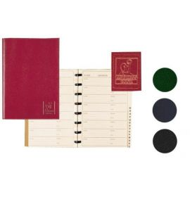 Stock #87032 Exacompta - Prestige Address Books - Blue - 5 ¾ x 8 1/4