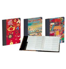 #87066 Madras Address Books - 6 x 8 1/2