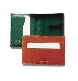 #980966 Mignon Card Holder - 4-½ X 3 - Brown
