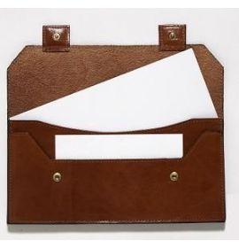 #981566 Mignon Passport & Ticket Holder - Brown